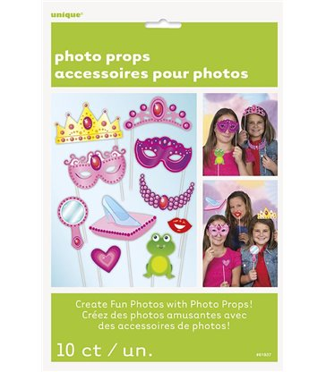 10 PRINCESS PHOTO PROPS