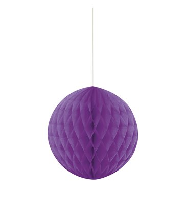 "HONEYCOMB BALL 8"" PRETTY PURPLE"