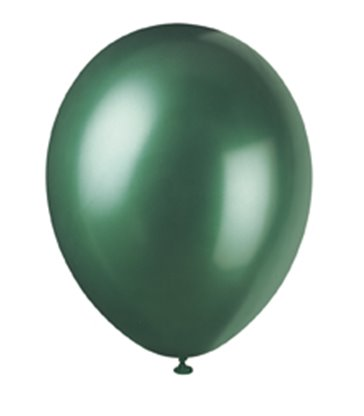 8 12'' PRL EVERGREEN BALLOONS