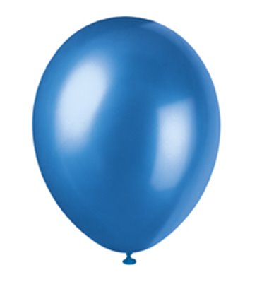 8 12'' PRL COSMIC BLUE BALLOONS