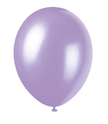 "50 12"" LOVELY LAVENDER PEARLISED BALLOONS"