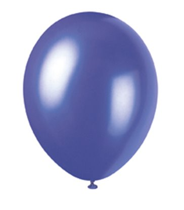 "50 12"" ELECTRC PURPLE PEARLISED BALLOONS"