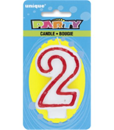 DELUXE NUMERL BIRTHDAY CANDLE 2