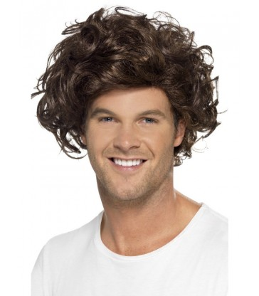 Boyband Heartthrob Wig, Curly