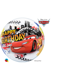 "Disney/Pixar Lightening McQueen & Mater Birthday 22"" balloon"