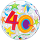 """40 Brilliant Stars 22"""" balloon"""