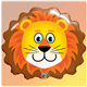 "Loveable Lion 29"" balloon"