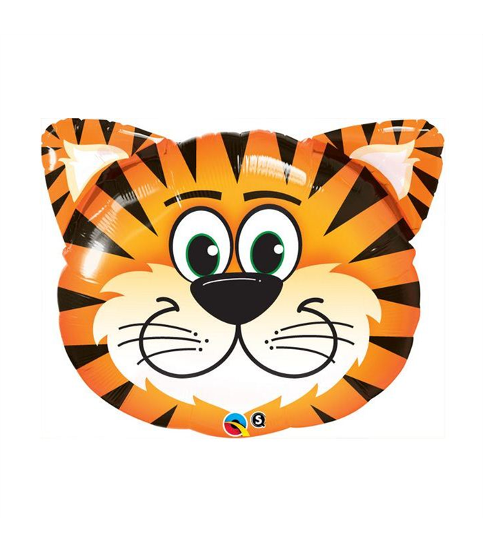 "Tickled Tiger 30"" balloon"