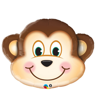 "Mischievous Monkey 35"" balloon"