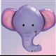 "Ellie The Elephant 39"" balloon"