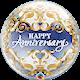 "Anniversary Classic Bubble 22"" balloon"