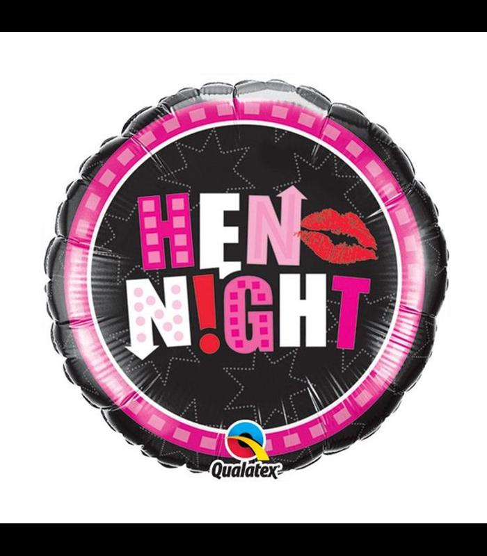 """Hen Night Party 18"""" balloon"""