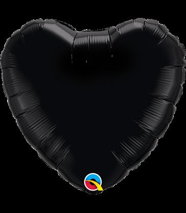 """Black Heart 18"""" balloon"""