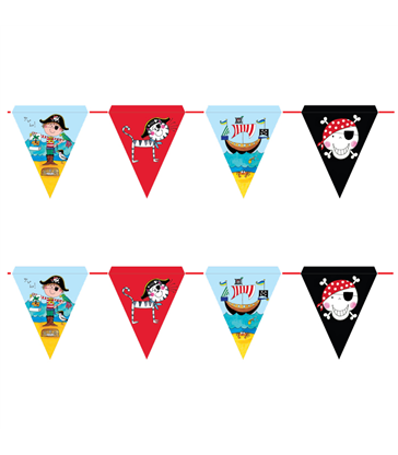 Pirate 3m Bunting