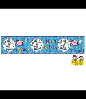 Rachel Ellen - Age 1 Monkey Banner