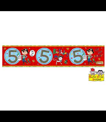 Rachel Ellen - Age 5 Pirate Banner