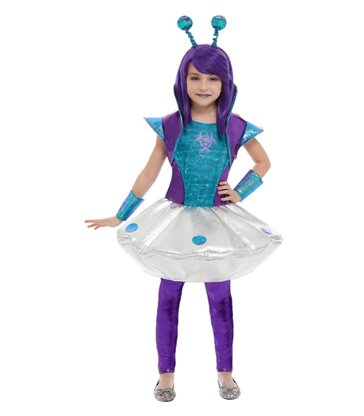 Alien Girl Costume