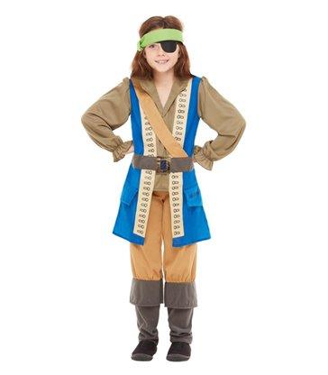 Horrible Histories Pirate Captain Costume