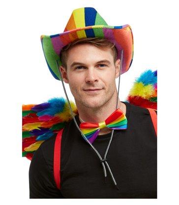 Rainbow Stetson Hat