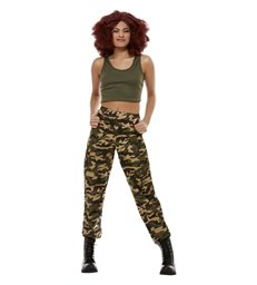 Scary Power Costume, Khaki Green