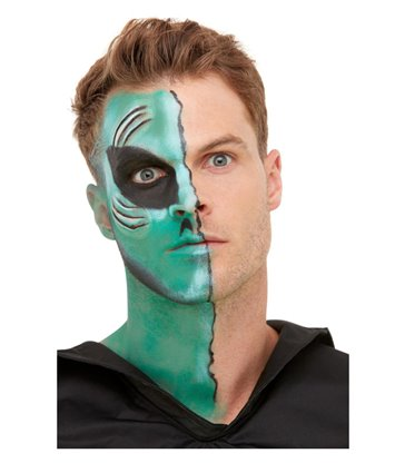 Smiffys Make-Up FX, Alien Kit, Aqua