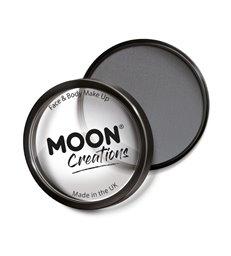 Moon Creations Pro Face Paint Cake Pot, Dark Grey