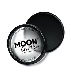 Moon Creations Pro Face Paint Cake Pot, Black