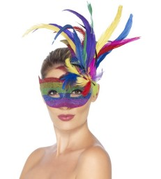 Carnival Eyemask, Rainbow
