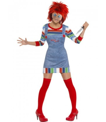 Chucky Ladies Costume