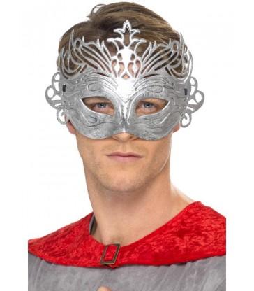 Colombina Silver Mask