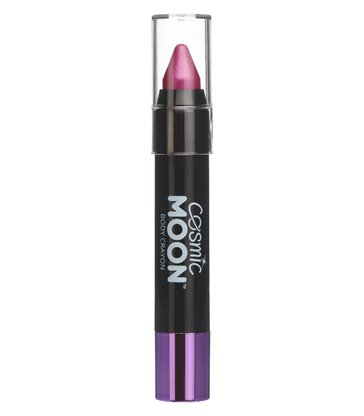 Cosmic Moon Metallic Body Crayon, Pink