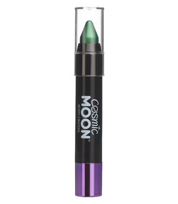 Cosmic Moon Metallic Body Crayons, Green