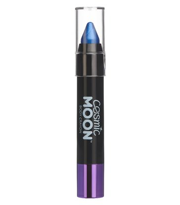 Cosmic Moon Metallic Body Crayons, Blue