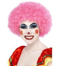 Crazy Clown Wig, Pink