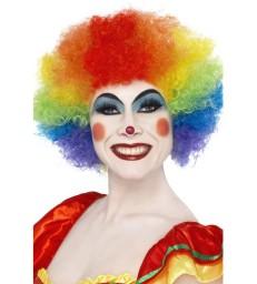 Crazy Clown Wig, Rainbow
