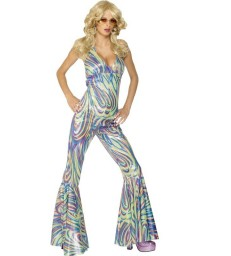 Dancing Queen Costume, Multi-Coloured