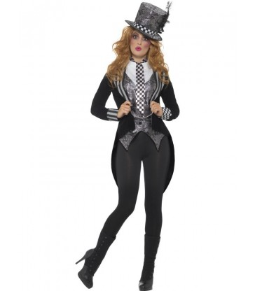 Deluxe Dark Miss Hatter Costume