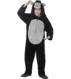 Deluxe Gorilla Costume, Black