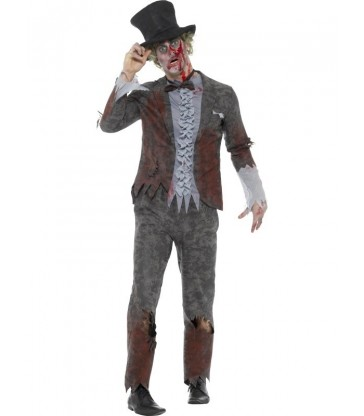 Deluxe Groom Costume, with Trousers, Jacket