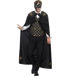 Deluxe Phantom Costume, Black & Gold